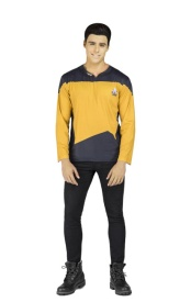 Camiseta disfraz de Star Trek Data para adulto