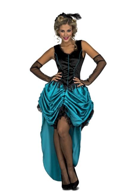 9c0b34a8c Disfraz de bailarina burlesque azul para mujer