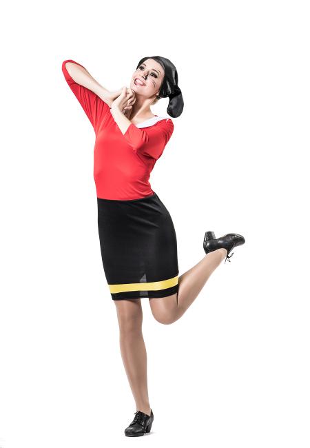 Disfraces y complementos de popeye disfraz de olivia para mujer altavistaventures Choice Image
