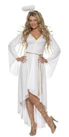 disfraz de ngel blanco para mujer