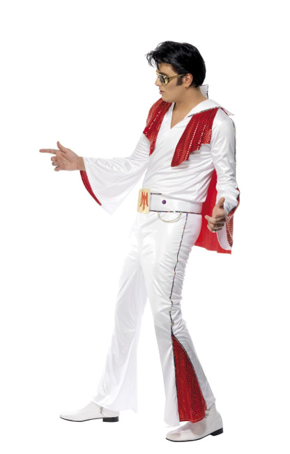 Disfraz De Elvis Presley Con Licencia Oficial Por 66 00