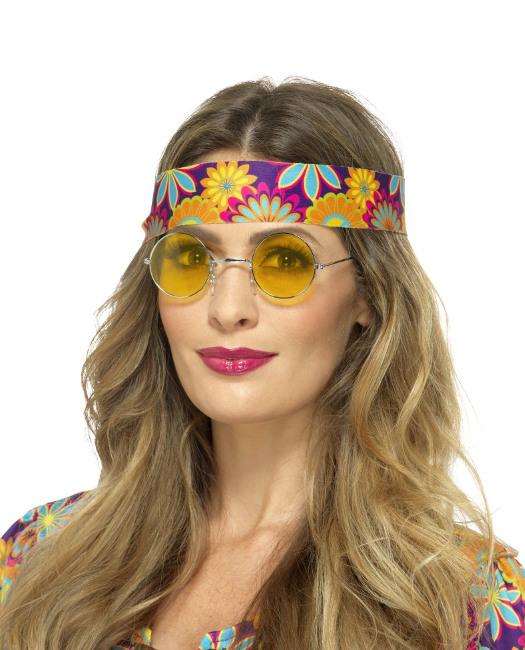 ef6905c7e6 Gafas hippie amarillas a la venta por 2,50 € (últimas unidades)