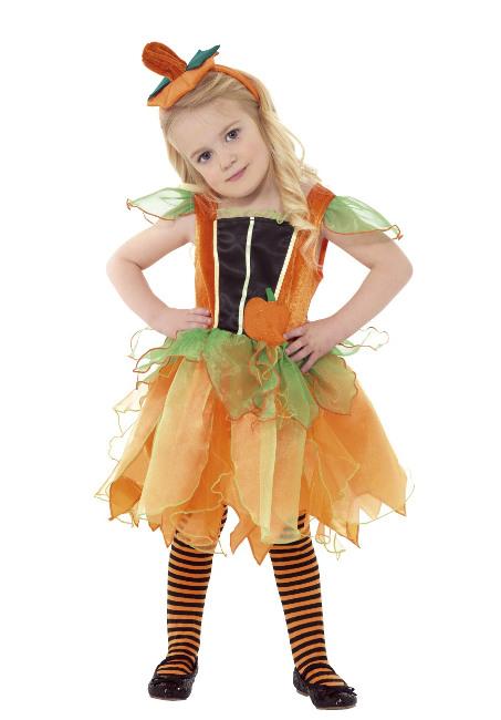 Disfraz de calabaza con vestido para beb por 2550