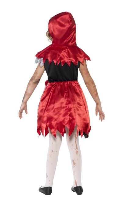 Disfraz de Caperucita zombie para nia barato por 14