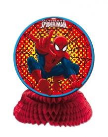 Centro de mesa de Spiderman