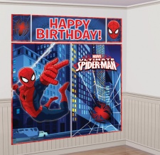 Mural decorativo de Spiderman