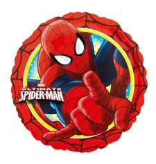 Globo redondo de Spiderman