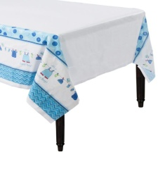 Mantel de Blue Baby Party - 1,37 x 2,59 m