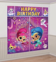 Mural decorativo de Shimmer and Shine