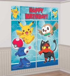 Mural decorativo de Pokemon