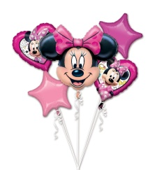 Bouquet de Minnie Mouse - 5 unidades