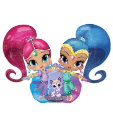 Globo gigante de Shimmer and Shine - 111 x 134