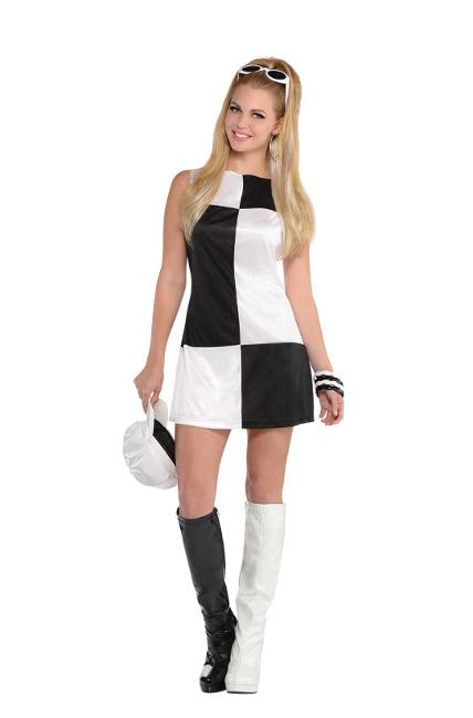 79a5391ebc60 Disfraz de chica mod de los años 60 para mujer