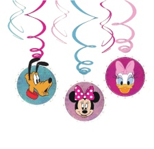 Colgantes decorativos de Minnie Mouse - 3 unidades
