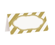 Vista principal de tarjetas Happy Birthday Golden - 16 unidades en stock