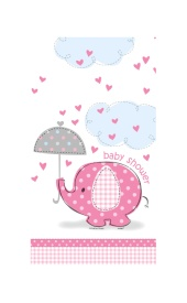Mantel Pink Elephant Party