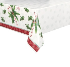 Mantel de Candy Christmas - 1,37 x 2,13 m