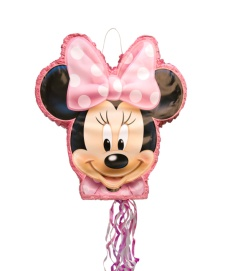 Piñata 3D de Minnie Mouse