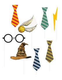 Kit para photocall de Harry Potter - 8 unidades