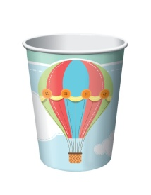 Vasos de Balloons Party de 266 ml - 8 unidades