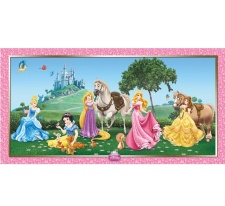 Mural decorativo de las Princesas Disney