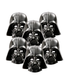 Caretas de Star Wars Darth Vader - 6 unidades