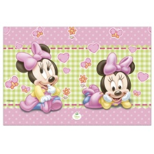 Mantel de Minnie Baby - 1,20 x 1,80 m