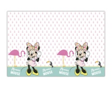 Mantel de Minnie tropical - 1,20 x 1,80 m