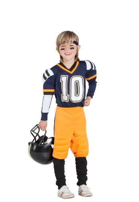 Niño Para Rugby Disfraz Americano Jugador De vwOm0N8n