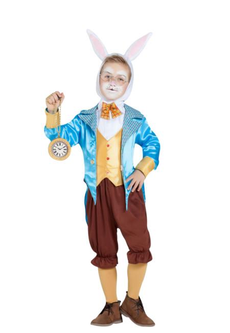 Disfraz De Conejo Blanco De Alicia Para Niño Por 23 00