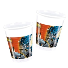 Vasos de Batman de 200 ml - 8 unidades