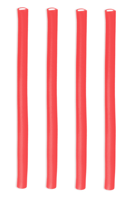 Vista principal del regaliz rojo de fresa relleno - Fini strawberry pencils - 100 g en stock