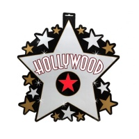 Decoración de estrella de Hollywood