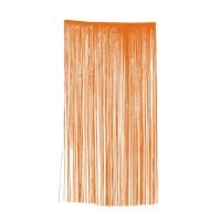 Cortina decorativa naranja - 1,00 x 2,00 m