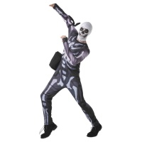 Disfraz de Skull Trooper Fortnite para adulto