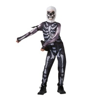 Disfraz de Skull Trooper Fortnite juvenil