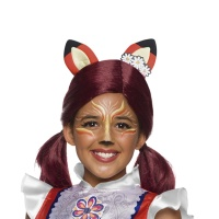 Peluca de Felicity Fox de Enchantimals infantil