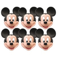 Caretas de Mickey Mouse - 6 unidades