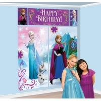 Mural decorativo de Frozen