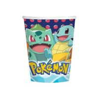 Vasos de Pokemon de 266 ml - 8 unidades