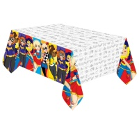 Mantel de Super Hero Girls - 1,37 x 2,43 m
