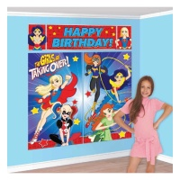 Mural decorativo de Super Hero Girls