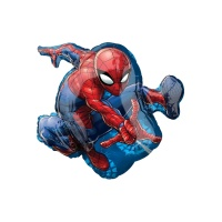 Globo silueta XL del superhéroe Spiderman de 73 x 43 cm - Anagram