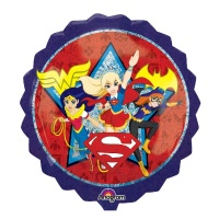 Globo silueta XL de Super Hero Girls - 71 cm