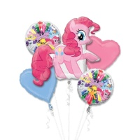 Bouquet de My Little Pony Pinkie Pie - 5 unidades