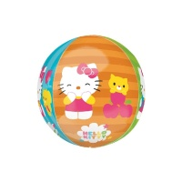 Globo orbz de Hello Kitty - 38 x 40 cm