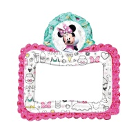 Marco para photocall hinchable de Minnie Mouse - 66 x 68 cm