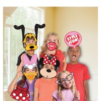 Kit para photocall de Minnie Mouse y sus amigos - 12 unidades