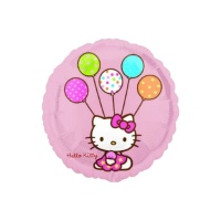 Globo redondo de Hello Kitty - 45 cm
