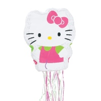 Piñata 3D de Hello Kitty